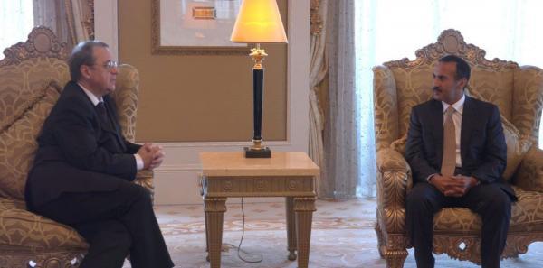 أحمد علي عبدالله صالح يلتقي نائب وزير الخارجية الروسية