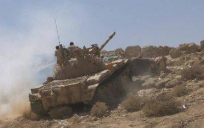 كمين محكم يستهدف تعزيزات لمليشيا الحوثي في مديرية جبن بالضالع