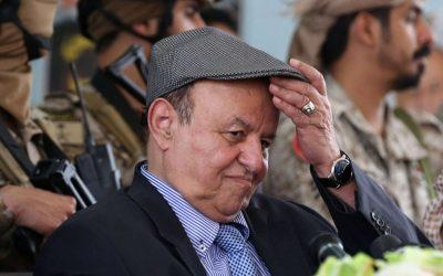 صحيفة: هادي يعقّد علاقته بالتحالف ويرفض مسودة اتفاق جدة