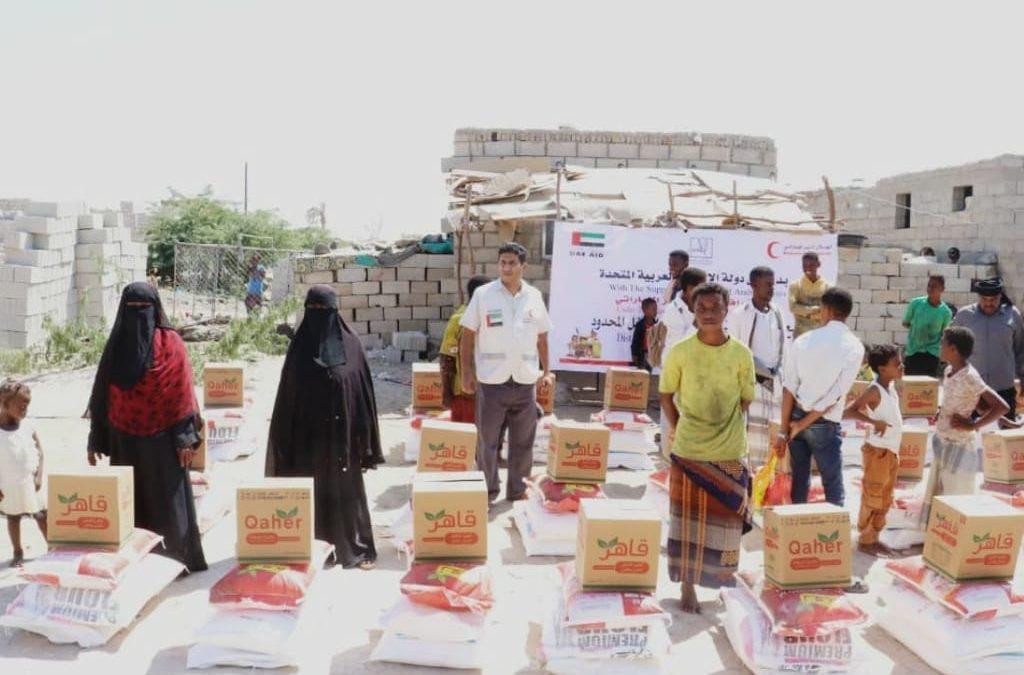 الإمارات تقدم 40 طناً من المساعدات الغذائية العاجلة لسكان شبوة
