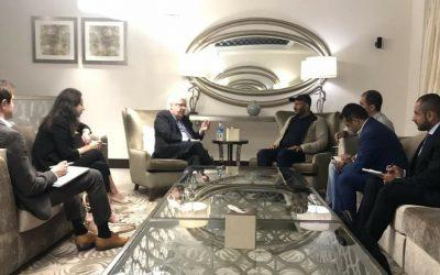 قائد المقاومة الوطنية يلتقي بالمبعوث الأممي ويبحثان تهديد الخروقات الحوثية على سلام اليمن