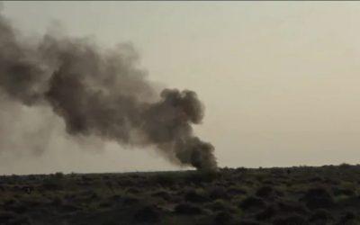 إنفجار عبوة ناسفة زرعتها مليشيات الحوثي في الطريق الرابط بين مديريتي التحيتا والخوخة بالحديدة