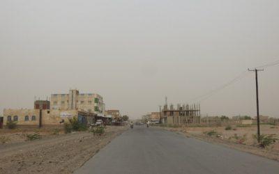 خروقات الحوثيين متواصلة بإستهداف مواقع القوات المشتركة في حيس
