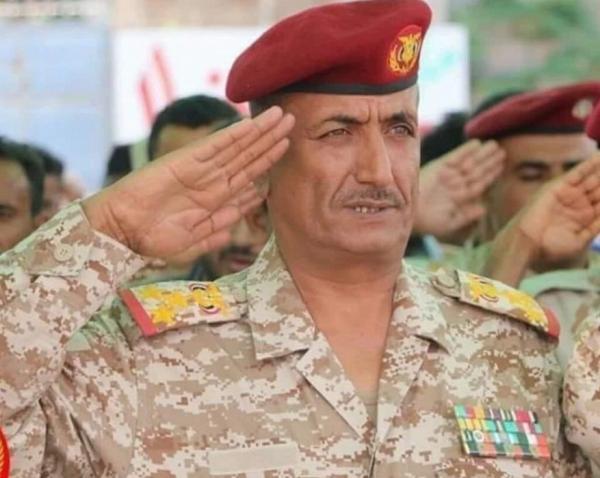 """قائد المقاومة الوطنية العميد """"طارق صالح"""" ينعي العميد """"عدنان الحمادي"""""""