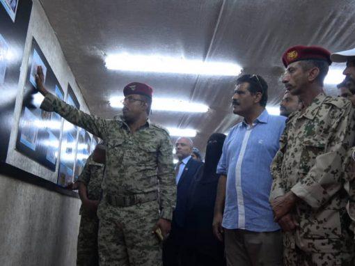 إفتتاح صالة المجد القتالي في جبهة الساحل الغربي