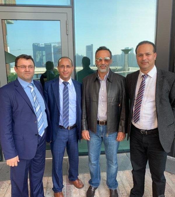 أحمد علي عبدالله صالح يلتقي قيادة فرع المؤتمر الشعبي بألمانيا