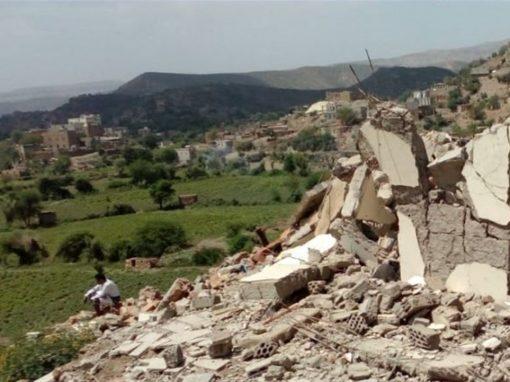 ارتفاع أعداد ضحايا الإجرام الحوثي في حيمة تعز