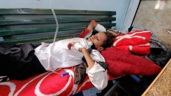"""إصابة ستة أطفال في قصف حوثي استهدف حي """"الروضة"""" بتعز"""