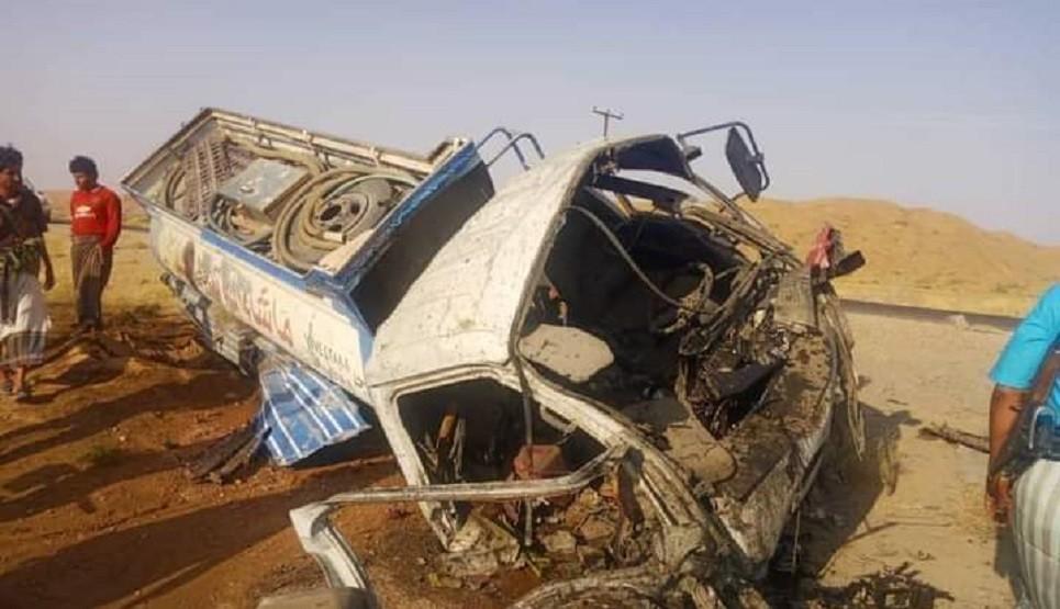 مقتل شخص وإصابة آخر بانفجار لغم من مخلفات الحوثي في عسيلان بشبوة