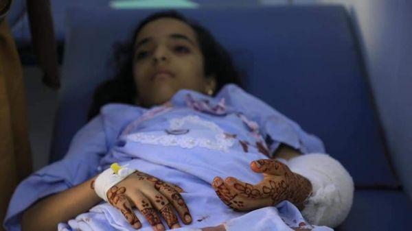 إصابة طفلة صباح العيد بقصف الحوثيين على تعز