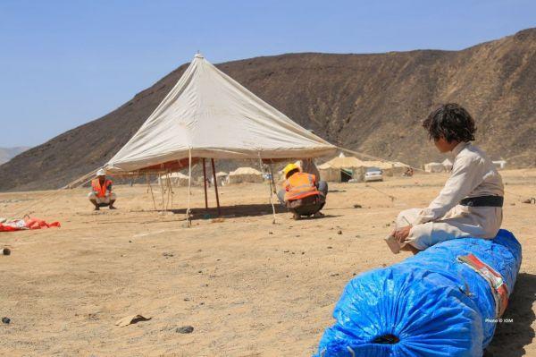 منظمة أممية: معارك مأرب أجبرت نحو ثلاثة ألف أسرة على النزوح منذ فبراير الماضي