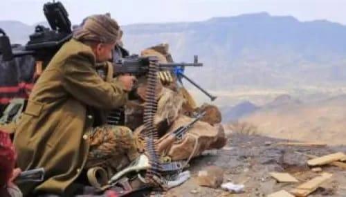 الجيش ورجال القبائل يستعيدون جبل البياض بمأرب
