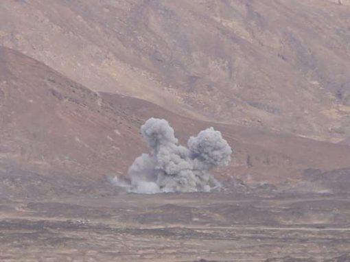 صرعى وجرحى في صفوف ميليشيا الإرهاب الحوثي في الجوف
