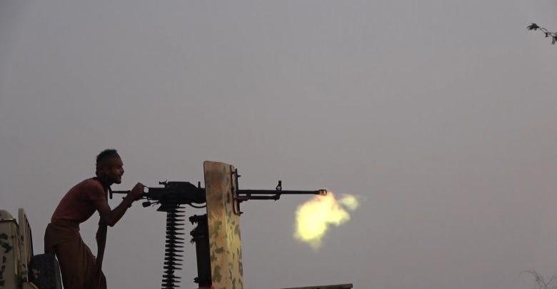 كسر محاولة تسلل حوثية في قطاع كيلو 16 شرق الحديدة